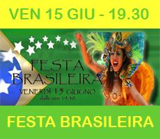 Festa Brasileira – VEN 15/06 – DJ Ciccio aka Roberto Sorbara