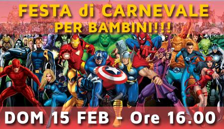 15-02-2015 – DJ per Festa di Carnevale per Bambini – DJ Roberto Sorbara