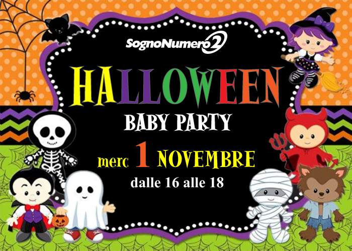 01-11-2017 – DJ Sorbara @ Halloween Baby Party 2017 – Treviso